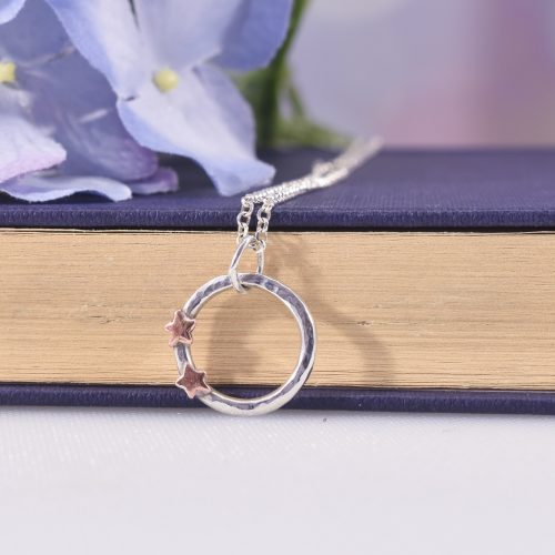Handmade Sterling Silver Stargazer Necklace
