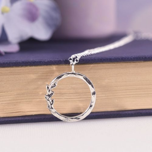 Handmade Sterling Silver Vine Necklace