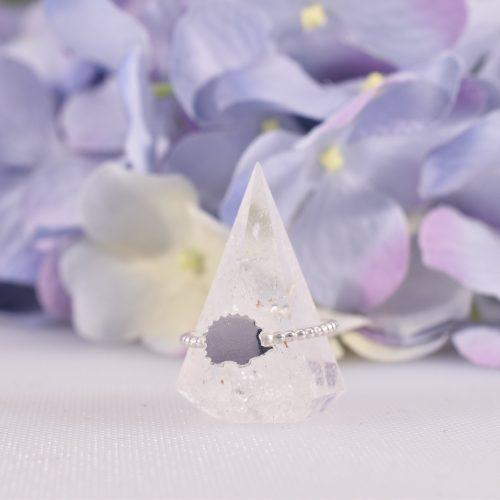 Handmade Sterling Silver Hetty Hedgehog Stacking Ring